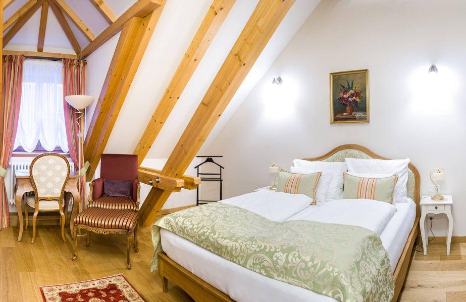 Doppelzimmer Schloss Thalheim